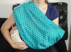 Wie kommt man im Sommer auf die Idee einen Schal zu nähen?  Da wir mittlerweile öfters mit dem Baby unterwegs sind, muss das Baby auch öfter...