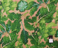 Flying Bulldogs, Inc. - Martha Negley PWMN065 Classics Veggie Leaves Green Fabric By Yard, $7.60 (http://www.flyingbulldogs.com/martha-negley-pwmn065-classics-veggie-leaves-green-fabric-by-yard/)