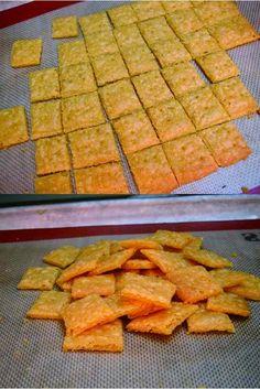 Gluten Free Cheez-It Crackers - cheese, cookie, cracker, dessert, gluten free, recipes