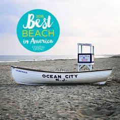 OCNJ Best Beach in America Ocean City NJ