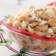 Island Vacation Party Mix  This is the Chex Mix Recipe I have been searching for!!! I am so glad I found it! It's so good!!!