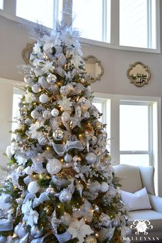 2015 christmas home tour christmas dcorelegant - Elegant Christmas Decor