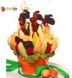 Delicious Easter Carol will make happy all original gift lovers http://www.frutiko.cz/en/easter-carol