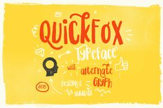 Quickfox by vuuuds on Creative Market