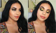 Pop Of Color Makeup Tutorial: Colourpop Telepathy | juicyyyyjas