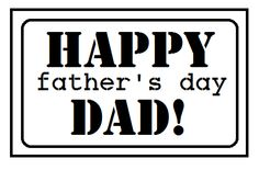 desert diva: Father's day sentiments!
