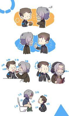 Hank & Connor