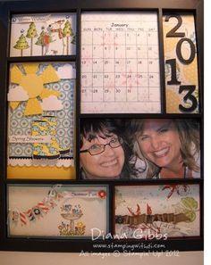 Stamping With Di: 2013 Calendar Class