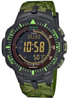 17c9b9c8680 Casio Men s PRO TREK Triple Sensor Solar Digital Watch Amazing Watches