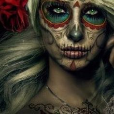 Kind of Day of the Dead, makeup, cosplay