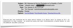 Testimonio 114 - Elimine Su Dolor de Espalda    http://eliminesudolordeespalda.com/blog
