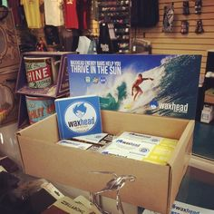 Go by Satilla Boardsports South this weekend to get yourself a Waxhead energy bar and free sticker!  - http://ift.tt/1HQJd81