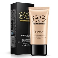 New BIOAQUA 3 Colors Natural Flawless BB Cream Makeup Concealer Oil-control Liquid Foundation Moisturizing Cosmetics 40ml