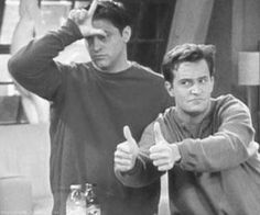 Remembering Joey And Chandler's Bromance On Friends