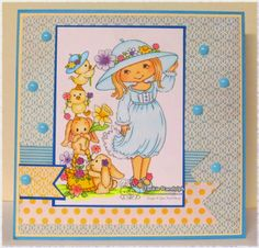 Your Next Stamp Fun Friday Challenge card by Jackie using Hat Decorating