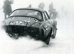 Jean-Pierre Nicolas - Vincent Laverne sur Renault Alpine A 110 - Rallye de Monte-Carlo 1975 - L'Automobile janvier 1976.