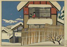 谷内 六郎 「冬のシャボン玉」