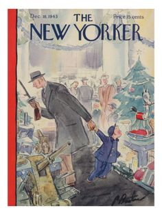 §§§ : The New Yorker Cover : 1943  : Perry Barlow
