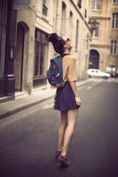 fashion-streetstyle:    Frassy: Back to Basics