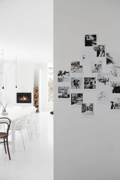 Lastest Home Design. Getting Bored With Your Home? Use These Interior Planning Ideas. There are many simple ways to learn about decorating your space. Inspiration Wand, Interior Inspiration, Deco Design, Design Lab, Interior Exterior, Interior Design, Norwegian House, Norwegian Style, Halls