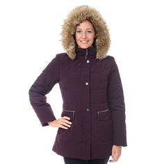 Apt. 9 Hooded Puffer Jacket - Women's | Stuff to Buy | Pinterest ... : croft and barrow quilted jacket - Adamdwight.com