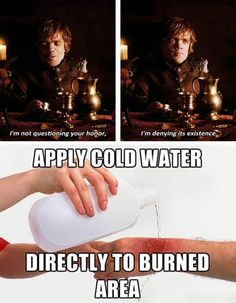 Good one, Tyrion!