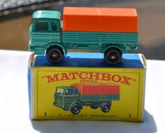 1960's Lesney Matchbox No 1 Mercedes Truck with Original Box  https://www.etsy.com/shop/WillsAttic
