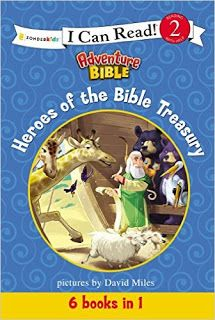 Perfect book to encourage kids to read!  Heroes of the Bible Treasury (I Can Read! / Adventure Bible)  @zphcom #homeschooling #educational