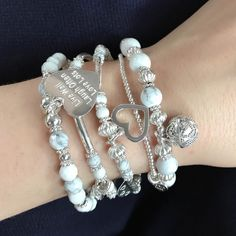 Indulge in the cool grey tones of the Harmony Collection. Collect them all for a gorgeously dreamy stack!