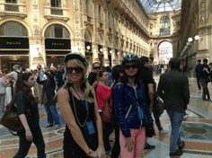 Nice Friends discover Milan on Segway by www.italysegwaytours.com