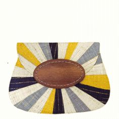 Opal Applique Clutch