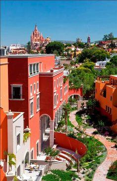 San Miguel de Allende,  Guanajuato Mexico for a great friend's wedding - que belleza!