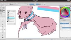Drawing in Krita: Making teespring merch (Transgender fox) Fox Art, Transgender, My Arts, Drawings, How To Make, Sketches, Draw, Drawing, Pictures