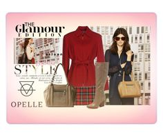 """""""Best Fall Look with Opelle Creative"""" by elena-indolfi ❤ liked on Polyvore featuring Filles à papa, Caractère and Calvin Klein"""