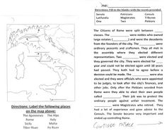 ancient rome test essay questions