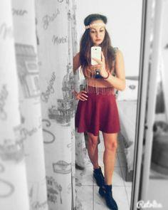 Skirt&Top Stradivarious  #outfit #oitfitoftheday #fashion #style #selfie #just_me #instafashion