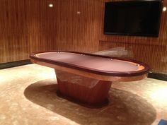 VEGAS Poker Table by MITCHELL | Exclusive Billiard Designs |