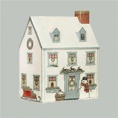 Christmas House 3D Advent Calendar - Sally Swannell