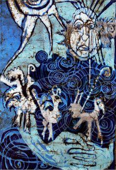 Anna Krawczak, batik  #art #batik #wax