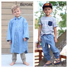 24+ Men's button down shirt refashion ideas - Swoodson Says