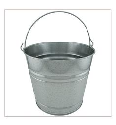 Galvanized buckets - 5.5 qt. - $3.89 at Tractor Supply Co.