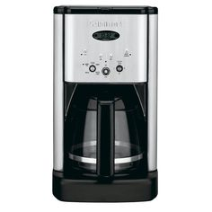 Brew Central 12-Cup Programmable Coffee Maker in Stainless Steel