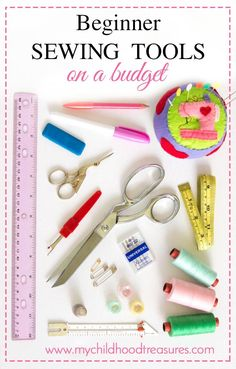 If you want to start sewing and are on a limited budget this is the guide for you! Basic sewing supplies to get you on your way without breaking the bank.