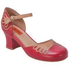 Buy Black Brown Red Miz Mooz Women's Elly Ankle-Strap Pump Shoe shoes