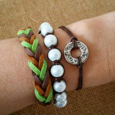Check out this item in my Etsy shop https://www.etsy.com/listing/231394307/set-of-3-bracelets