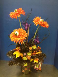 """""""I See You"""" Halloween Table Top arrangement Halloween Collection 2013 design by Christian Rebollo"""
