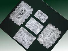 Doily Doilies - Filet Crochet Doilies Patterns