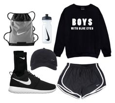 """""""Untitled #849"""" by frenchystyle ❤ liked on Polyvore featuring NIKE"""