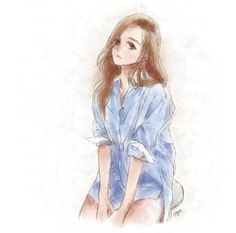 Jessica Jung fanart credit to the owner