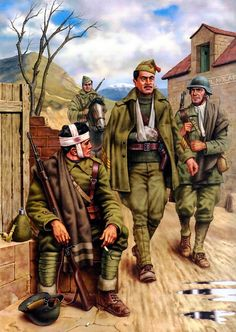 The Spanish Civil War - The Battle of Jarama Valley Military Art, Military History, Military Uniforms, Poster On, World War Two, Wwii, Vietnam, Battle, Army